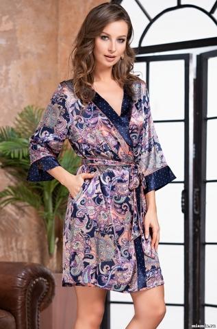 Женский халат Mia-Amore  ETTRO 3503 (70% натуральный шелк)