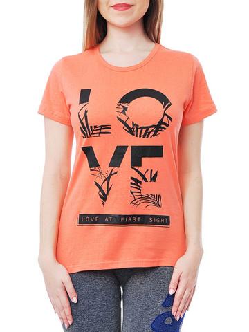 461134-14 футболка женская, розовая
