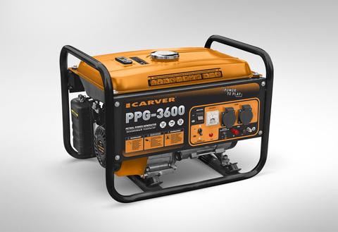 Бензогенератор Carver PPG-3600