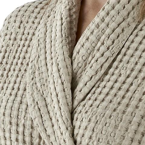 Элитный халат вафельный Pousada 770 Linen от Abyss & Habidecor