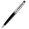 Waterman Expert - Deluxe Black CT, шариковая ручка, M