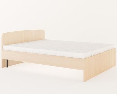 Кровать КР-04 дуб белёный
