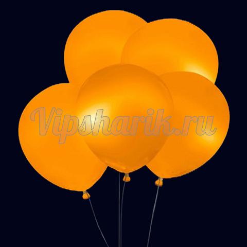 Светящиеся шары оранжевые