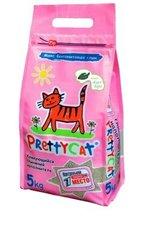Pretty Cat комкующийся наполнитель Euro Mix с ароматом алоэ вера