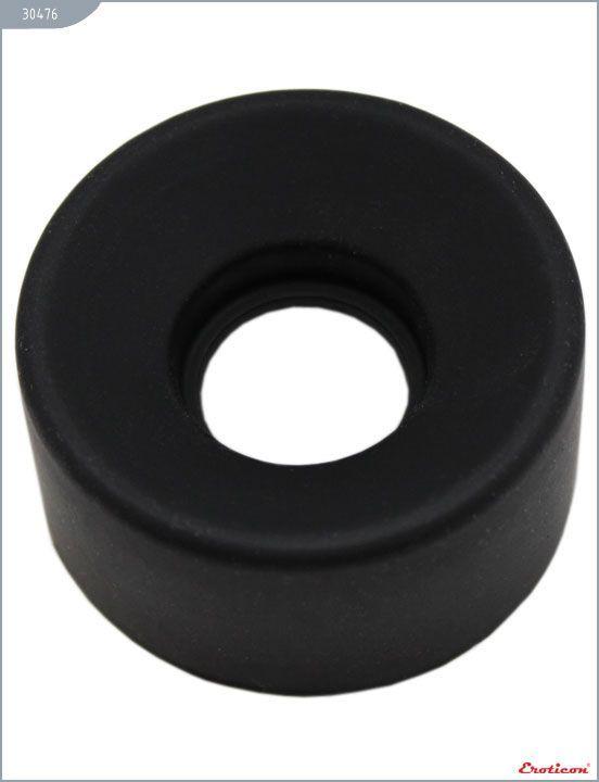 Вакуумные помпы: Чёрное уплотнительное кольцо для мужских помп Eroticon