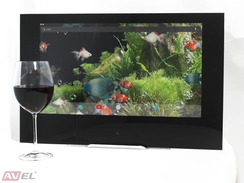 Сенсорная Android панель для кухни AVEL AVS220KT (черная рамка)/Телевизор