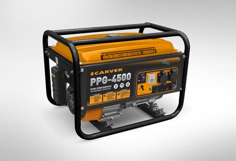 Бензогенератор Carver PPG-4500