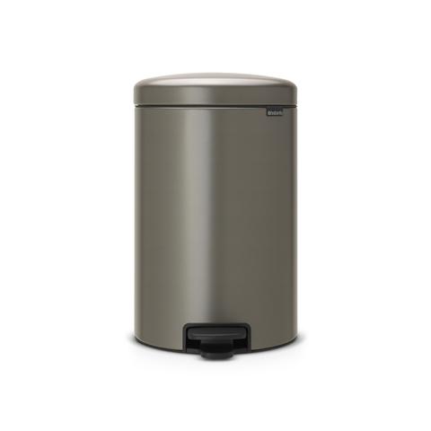 Мусорный бак newicon (20 л), Платиновый, арт. 114045 - фото 1