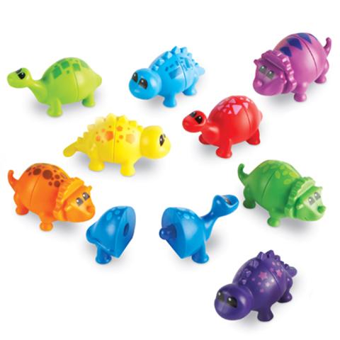 Игра для малышей Собери динозавриков, Learning Resources
