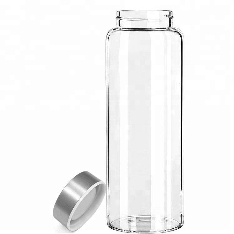 Бутылка из боросиликатного стекла 0,55 л. без чехла