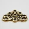 "Коннектор Quest Beads ""Арабский"" 19х14 мм (цвет-античное золото)"