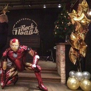 Ходячий шар Железный человек (фото 2)