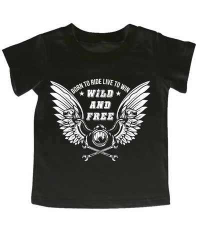 Мотокид, Футболка Wild And Free