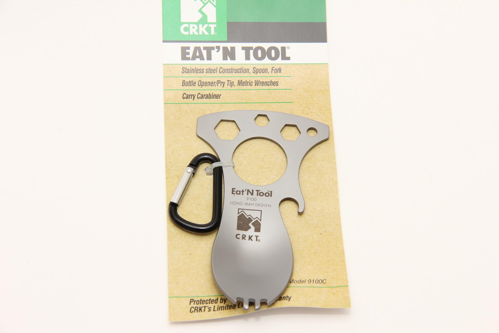 CRKT вилка-ложка-инструмент