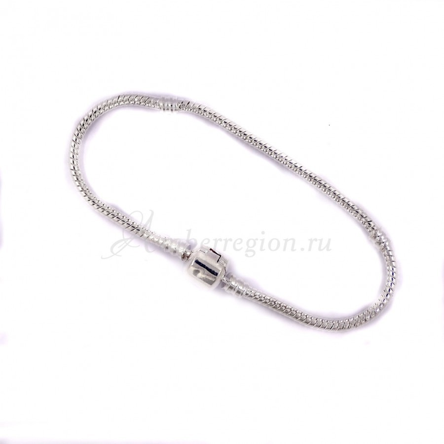 Металлический браслет-змейка