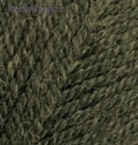 Пряжа Angora real 40 Alize 567 Зеленый меланж - фото