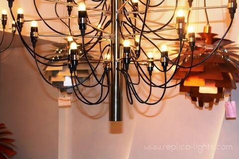 replica Flos Model 2097 30 Small Modern Chandelier by Gino Sarfatti