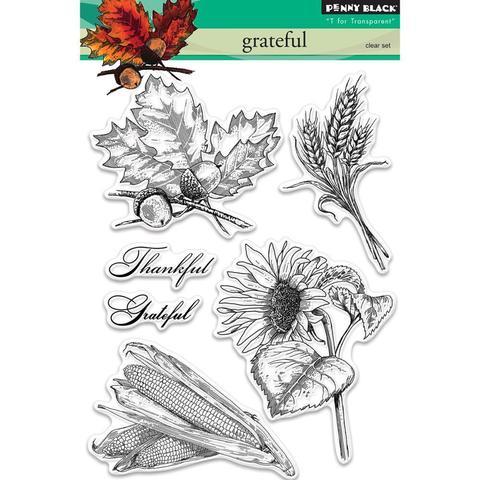 Набор штампов  - Grateful