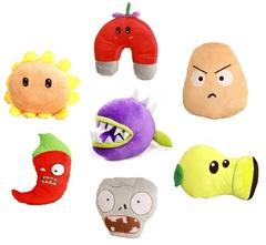 Мягкие игрушки из игры Растения против Зомби
