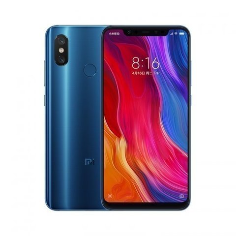 Смартфон Xiaomi Mi 8 6GB/64GB  Blue (Синий) Global Version