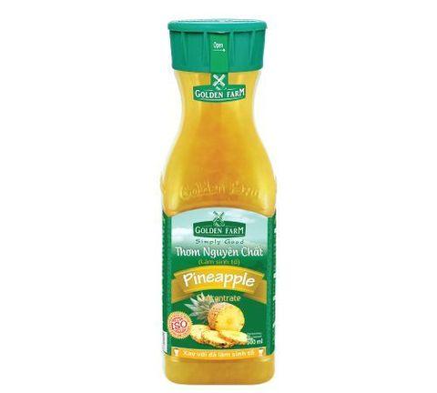 Сироп (варенье) Ананас, из давленых фруктов, Golden Farm, 0,5 л