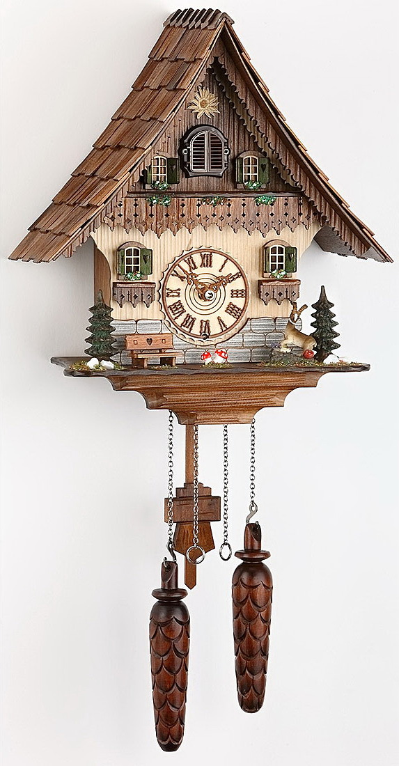 Часы настенные Часы настенные с кукушкой Trenkle 454 Q HZZG chasy-nastennye-s-kukushkoy-trenkle-454-q-hzzg-germaniya.jpg