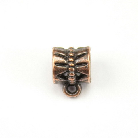 Бейл 7х10х6 мм (цвет - античная медь)