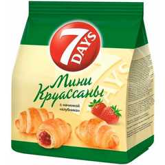 "Круассан Мини ""7days"" c Клубникой 300г"