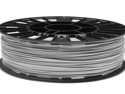 Пластик ABS REC 2.85 мм 750г., серебристый