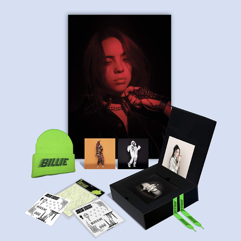 Billie Eilish / When We All Fall Asleep, Where Do We Go? (Limited Fan Box Edition)(CD)