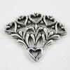 "Коннектор Quest Beads ""Пенсильвания"" (1-5) 22х17 мм (цвет-античное серебро)"