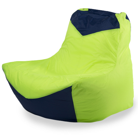 Кресло-мешок «Классическое» Лайм и Синий