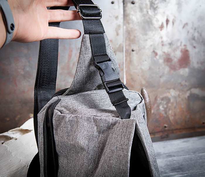 BAG456-3 Рюкзак сумка с одной лямкой через плечо фото 08