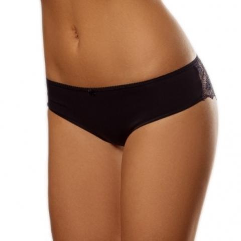 Lisse Трусы женские слипы модель 1-001 размер 98 цвет: черный