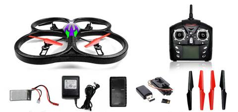 Радиоуправляемый вертолет (квадрокоптер) WL Toys V333C с камерой