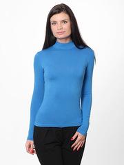7171-12 водолазка женская, синяя