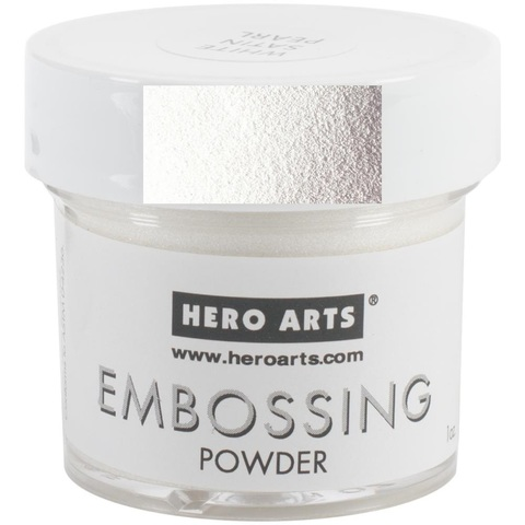Пудра для эмбоссинга -WHITE   -EMBOSSING POWDER