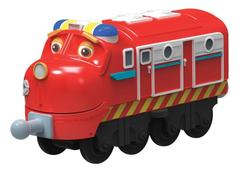 Chuggington Die-Cast Паровозик Уилсон-патруль (LC54117)