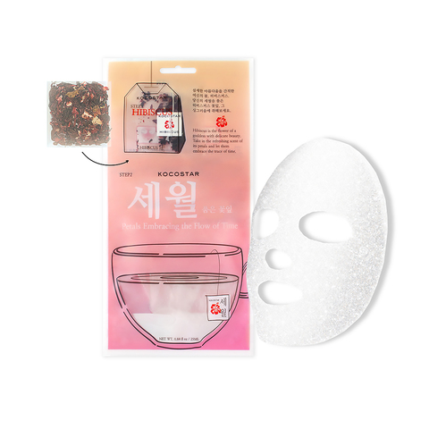 KOCOSTAR | Детокс-маска с Гибискусом, улучшающая цвет лица, (25 мл)