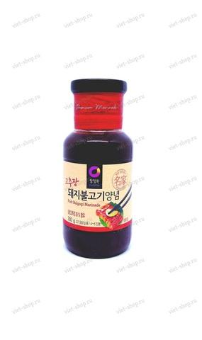 Корейский маринад для свинины Daesang Pork Bulgogi Marinade, 280 гр.