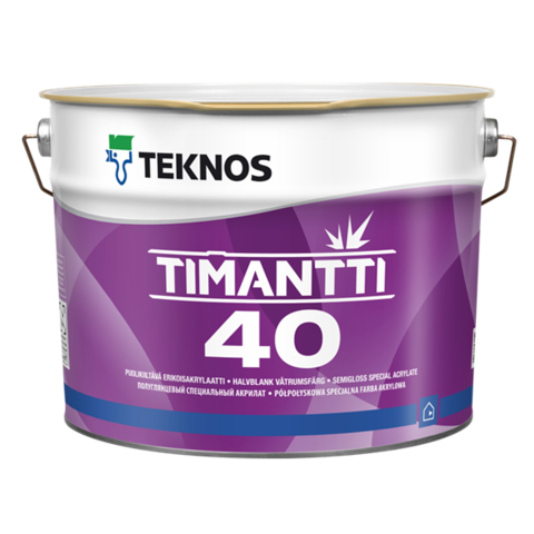 TEKNOS TIMANTTI 40/Текнос Тиманти 40 полуглянцевый специальный акрилат