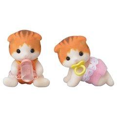Рыженькие котята-двойняшки Sylvanian families 5292