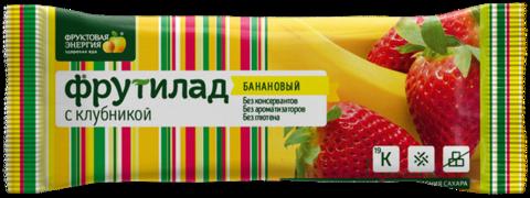 """Фруктовый батончик Фрутилад """"С Клубникой"""""""" 31г"""