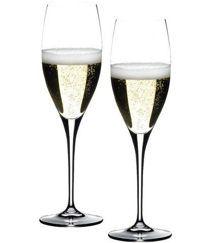 Набор бокалов для шампанского 4 шт 330 мл Riedel Heart to Heart Champagne Glass