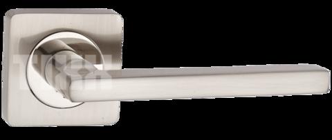 Фурнитура - Ручка Дверная  TIXX Вито, цвет никель матовый  (гарантия - 12 месяцев)