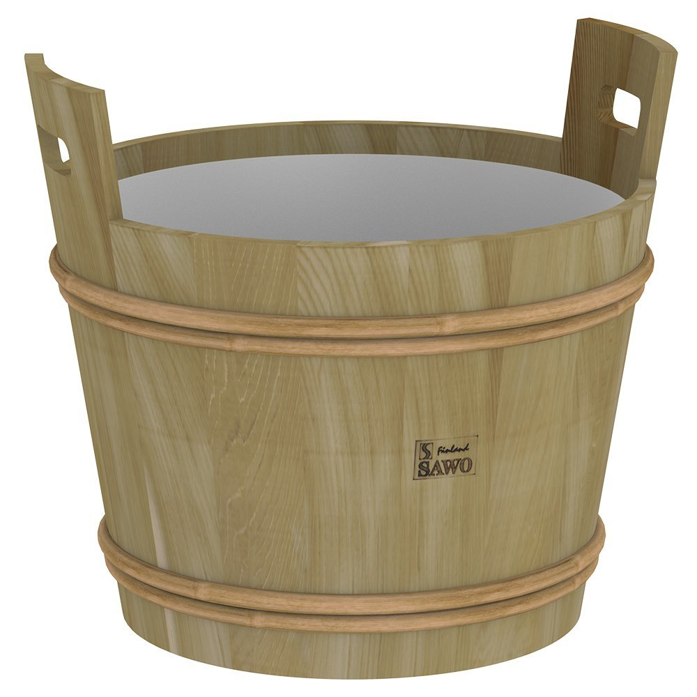 Ведра и кадушки: Запарник SAWO 392-D (40 литров, с пластиковой вставкой)