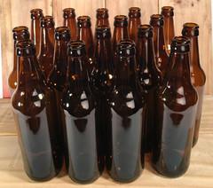 Комплект стеклянных бутылок 0,5 литра