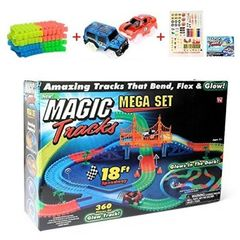 Трасса Magic Tracks 360 деталей Mega Set