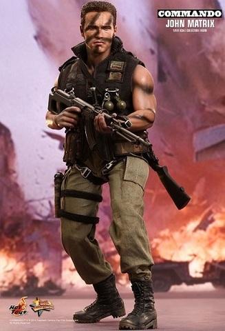 Commando — Movie Masterpiece 1/6 Scale John Matrix