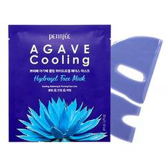 Petitfee Agave Cooling Hydrogel Face Mask - Охлаждающая гидрогелевая маска с экстрактом агавы